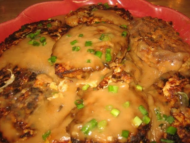 Egg Foo Young | Asian Korean Thai | Pinterest | Egg Foo Young, Eggs ...