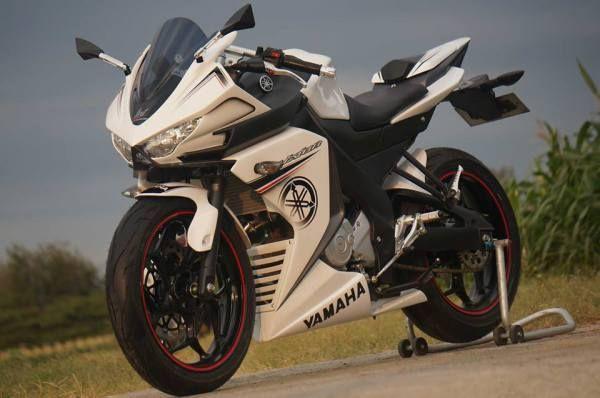 Yamaha Vixion modification R15 dari Lent Automodified