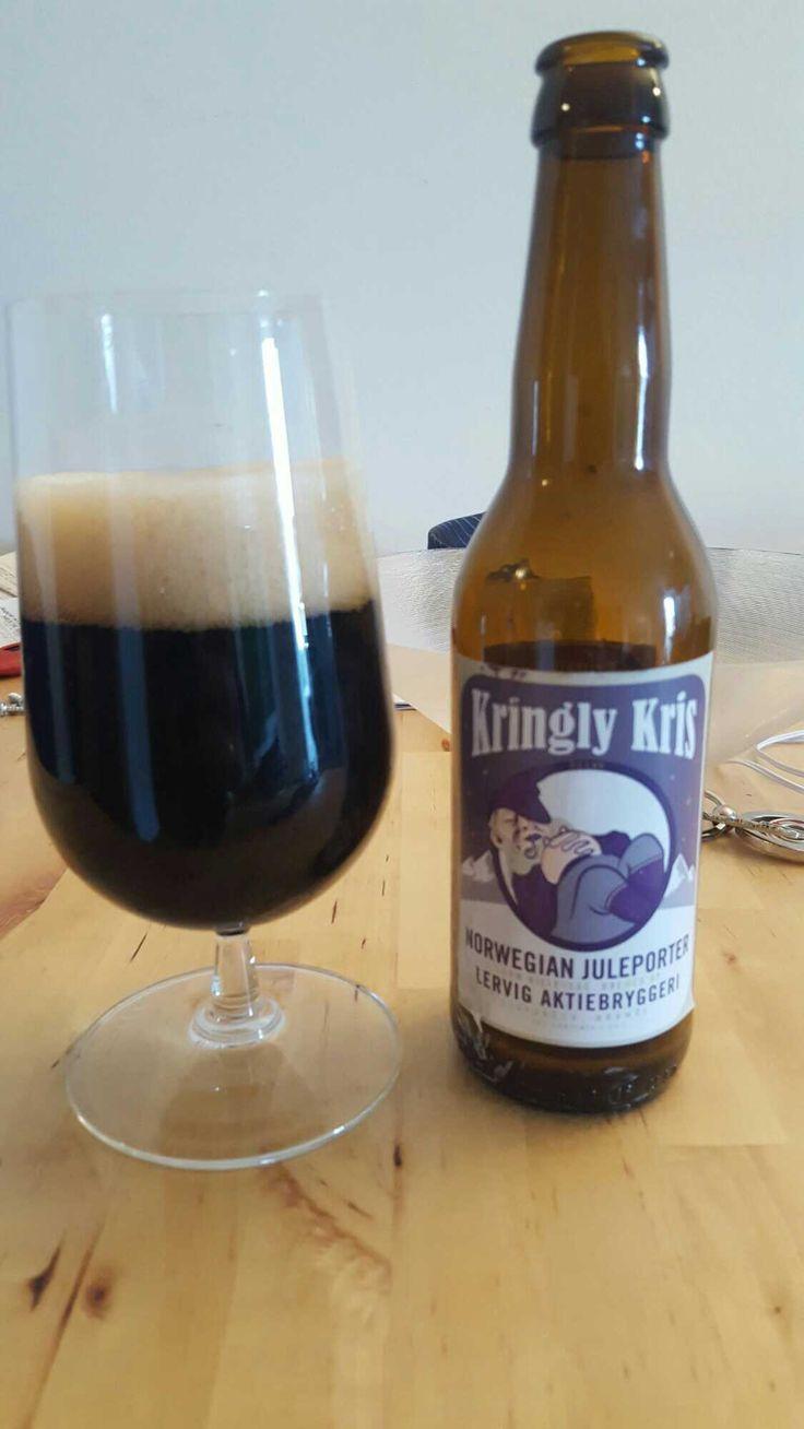 Kringly Kris Norwegian Juleporter (2015) by Lervig