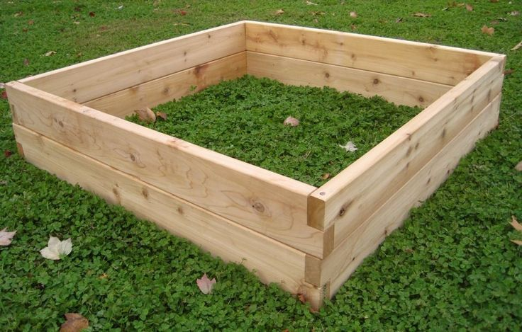 Best 25 cedar raised garden beds ideas on pinterest - Cheap raised garden beds for sale ...