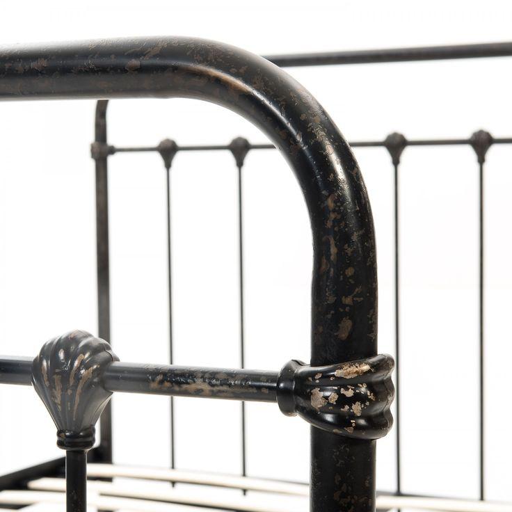 Vintage Metal Bed  |  Bed Frames  |  Bedroom  | Caseys Furniture