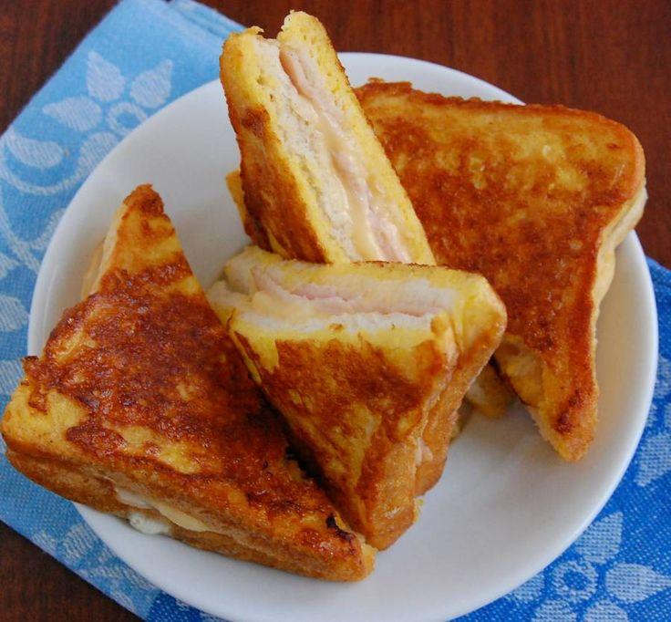 Kanapki Monte Christo przepis - zjem to blog kulinarny