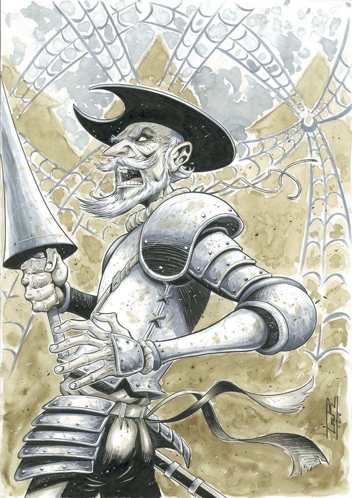 El Quijote está presente en todos lados, y el cómic no podía ser menos. Este fin de semana se ha celebrado el Expocómic de Madrid, la feria de la capital dedicada a los teb