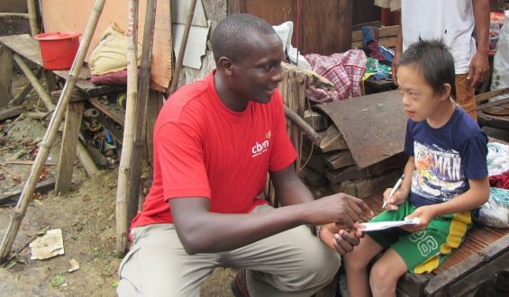 CBM works with local partners to ensure that people with #disabilities are included at all levels of disaster preparedness and response.