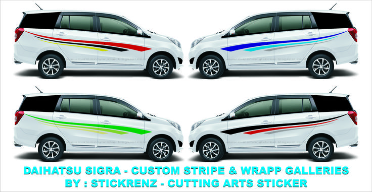 Daihatsu Sigra - Custom Stripe & Wrapp - Concept Galleries 005