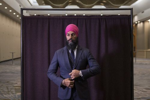 "Trudeau's new political rival is a Canadian Sikh with swag - Times of India  ||  Jagmeet Singh, the 38-year-old son of Punjabi immigrants, became the first nonwhite to head a major political party in Canada after being elected leader of the New Democratic Party (NDP). Soon after getting elected with 53.6% of the vote on Sunday, Singh told the cheering crowd, ""I…"