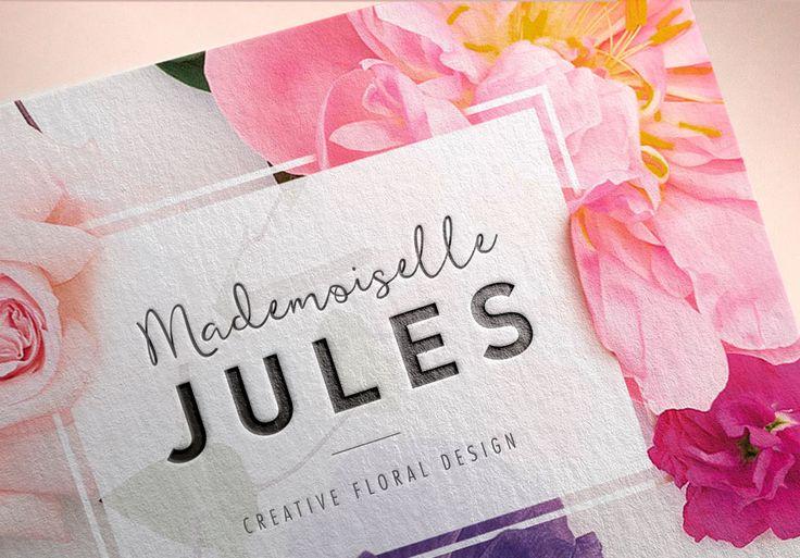 #businesscard #identity #logo #graphicdesign #flower #embossed