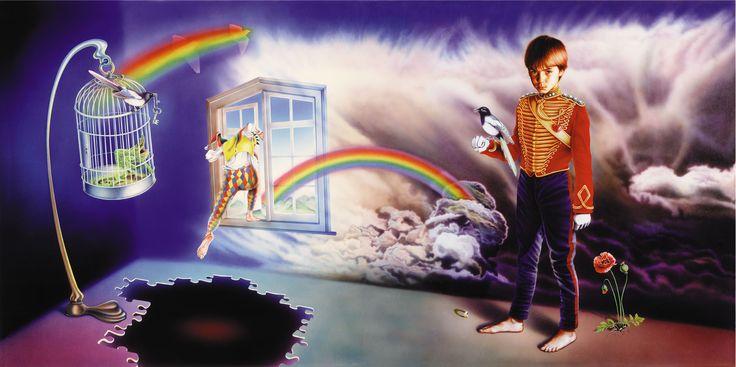 "Artwork del album de Marillion de 1984 ""Misplaced Childhood"". Mark Wilkinson."