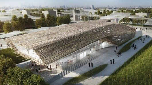 Competition Entry: Austrian Pavilion (Milan Expo 2015) / Bence Pap   Mario Gasser