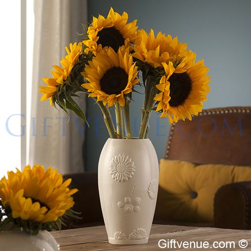 Belleek Living Sunflower 12