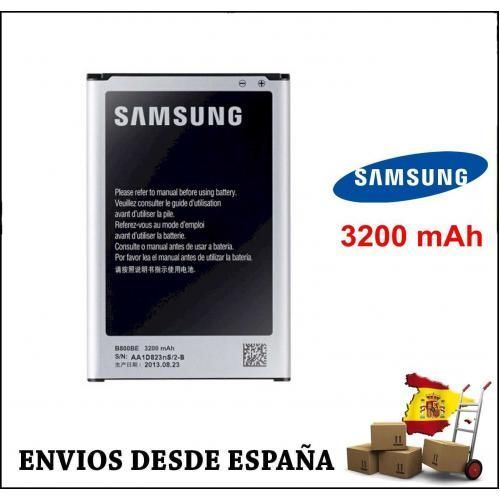 BATERIA SAMSUNG NOTE 3 III B800BE B800BC N9005 N9006 N900 3200 mAh ORIGINAL