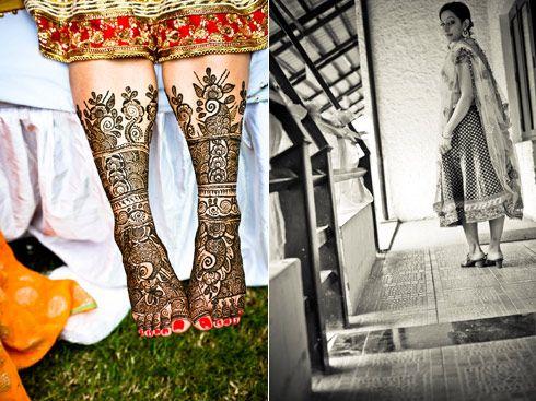Beautiful Mehendi sported by Radhika Nichlani of WeddingSutra. #WeddingSutra #weddingmehendi #wedding #mehendi #ideas #indianwedding #Indian #bridalmehendi #designs #henna
