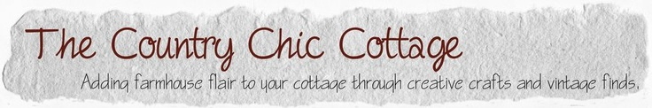 * THE COUNTRY CHIC COTTAGE (DIY, Home Decor, Crafts, Farmhouse)