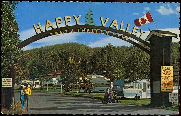 Happy Valley Tent & Trailer Park, Calgary, Alberta
