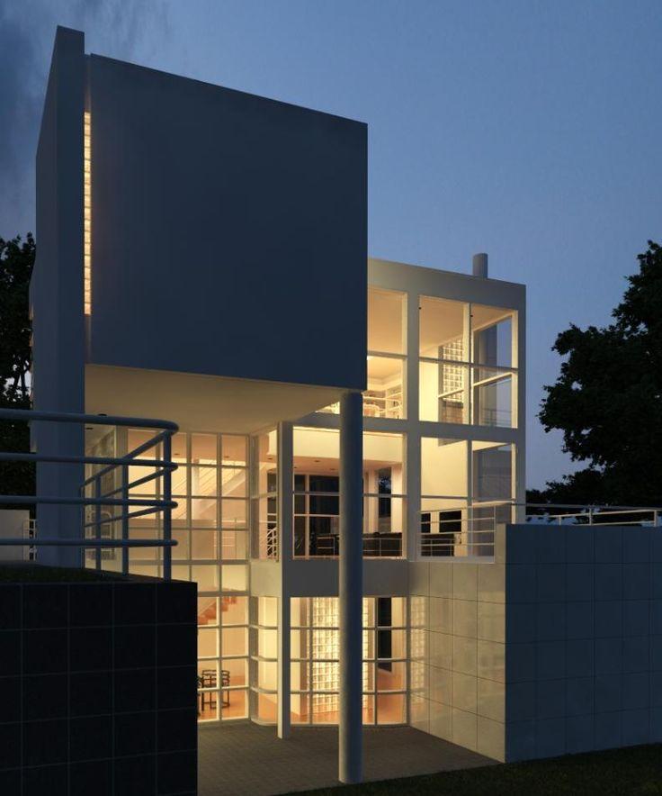 les 94 meilleures images du tableau architect richard meier sur pinterest richard meier. Black Bedroom Furniture Sets. Home Design Ideas