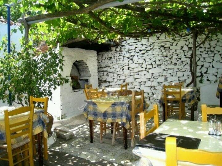 Little Taverna In Samos Manolates Greek Garden Small