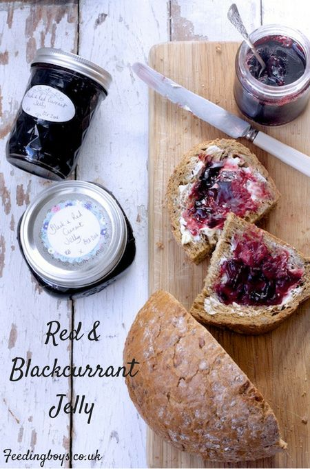 Redcurrant and Blackcurrant Jelly on feedingboys.co.uk