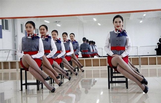 Chinese Flight Attendant Training Is Not For The Weak - Wow Gallery
