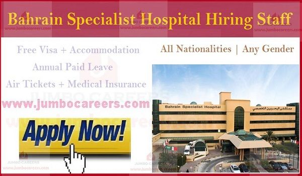 Nurses Jobs In Bahrain 2019 Nursing Jobs Hospital Jobs Medical