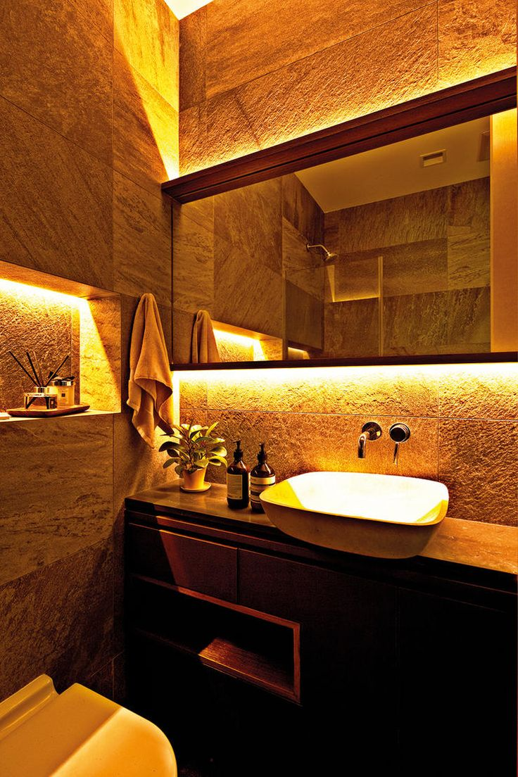 Bathroom lights singapore - Like The Nook Next To The Wc Under Mirror Lights Would Incorporate Storage Behind Mirror And Space On The Other End Of Vanity Counter Farthest From Wc