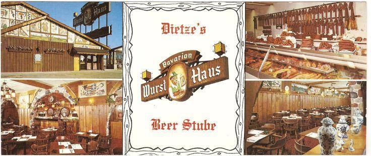 Dietze's Bavarian Wurst Haus & Restaurant. 8310 W