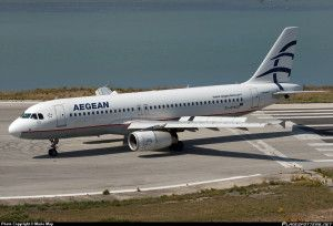 Aegean Airlines plane Reviews
