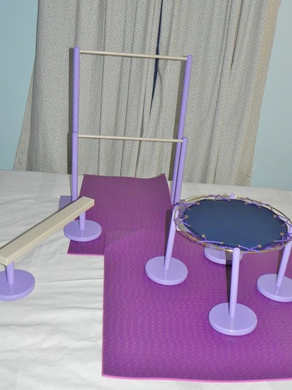 American Girl Doll Gymnastic Equipment now by KerwoodFurnitureMore, $145.00