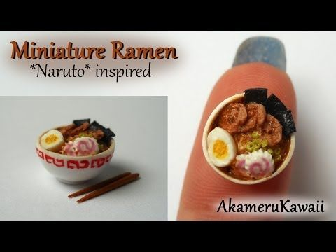 Miniature Ramen *Naruto* inspired / Collab with NerdECrafter - YouTube