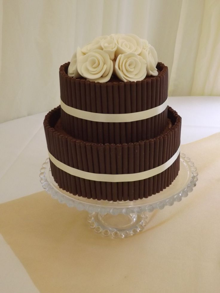 wedding cake decorations to buy chocolate cigarillo cake two tier chocolate cigarillo 22410