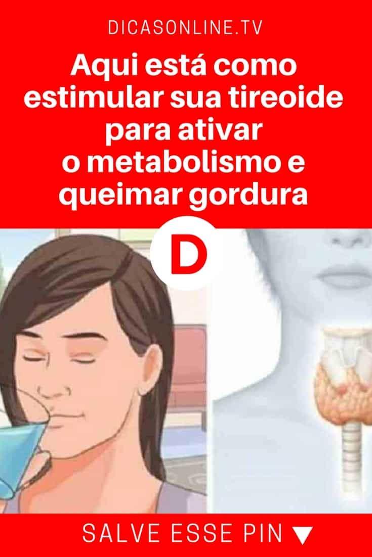 Estimular A Tireoide Ajuda A Perder Peso Mais Rapidamente