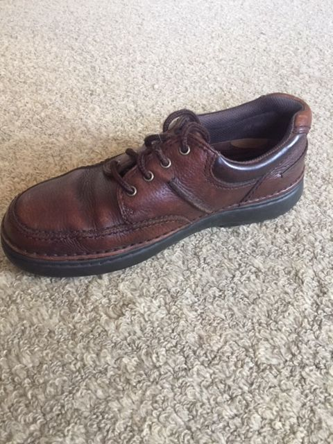 Mens Brown Streetcar Oxfords Size 9 5 M Casual Shoes w/Gel
