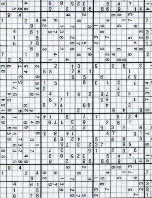 Tkanina Sudoku Timeless Treasures