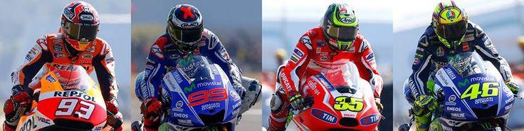 pembalap motogp 2014 . . .
