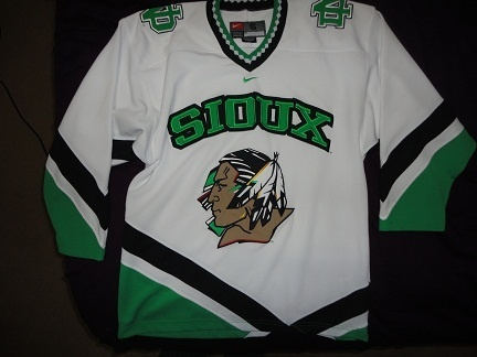 Sioux Hockey Jersey  93d3271045b