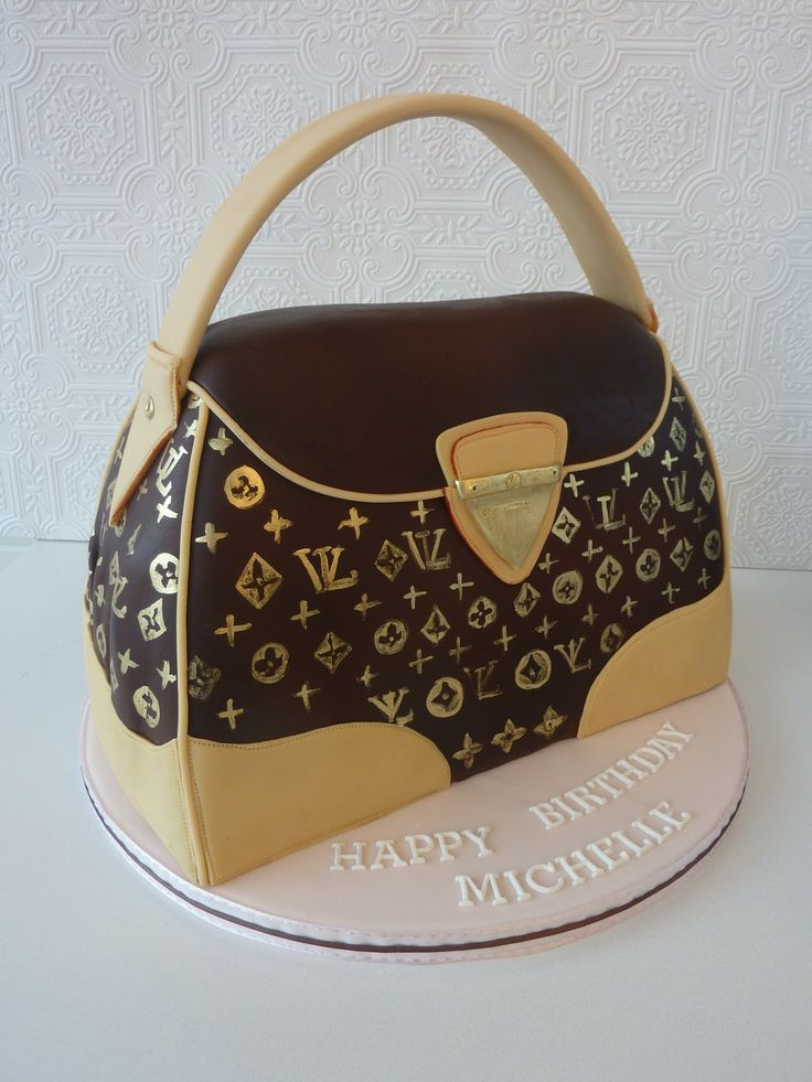 how to make a purse cake step by step | Adore Cakes Co.: Louis Vuitton Purse Cake