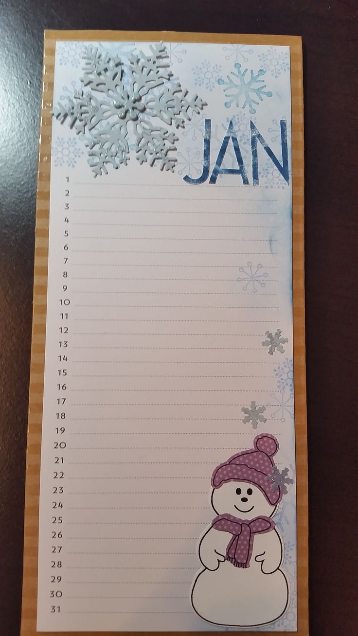 Stampin Up Calendar Ideas : Ideas about birthday calendar board on pinterest