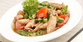 Resep Masakan Mudah, Murah & Enak: Cumi Asin Cabe Ijo