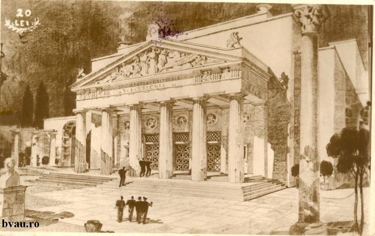 """Societatea Culturală """"V.A. Urechia"""", Galati, Romania, anul 1931, http://stone.bvau.ro:8282/greenstone/collect/fotograf/index/assoc/J448617.dir/448617.jpg.  Imagine din colecţiile Bibliotecii Judeţene """"V.A. Urechia"""" Galaţi."""