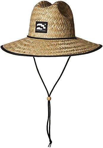 0cbc71af327fd Chic Brooklyn Surf Men s Straw Sun Lifeguard Beach Hat Raffia Wide Brim
