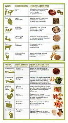 Equivalences vegan en français