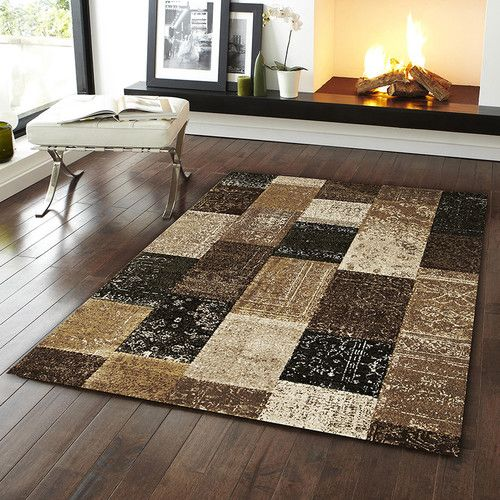 Network Rugs Patchwork Design Rug