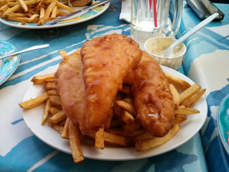 Fish  Chips @ Moby Dick's in White Rock, BC
