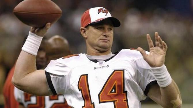 Former Buccaneers QB Brad Johnson admitted to paying for footballs to be doctored before Super Bowl XXXVII.