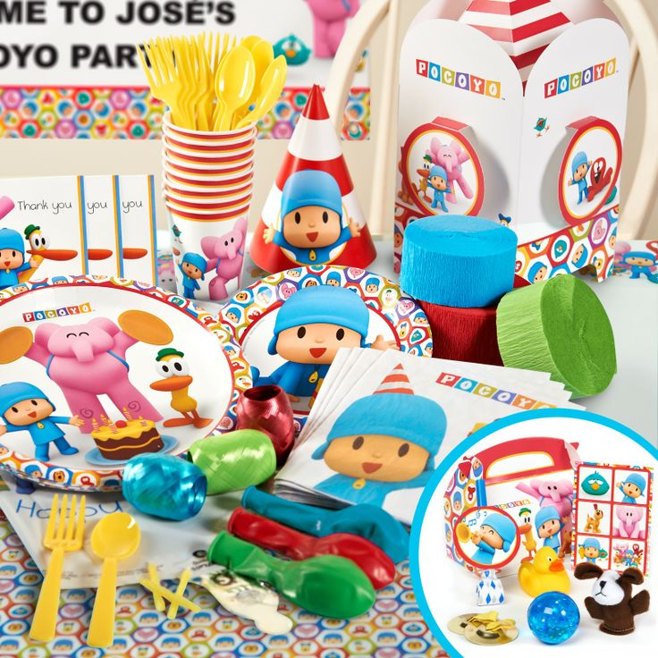 125 Best Images About 2nd Birthday Pocoyo Party Ideas 2013