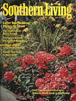 April 1977 | Layer Your Bedding Plants For ShowSouthern Living, Beds Plants, April 1977, Living Covers, Vintage Southern