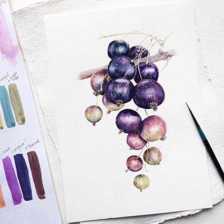 """248 Likes, 10 Comments - Iryna Rogova (@palitrochka) on Instagram: """"Каждая моя работа – мое детище, даже если это всего лишь осенний листик... и дорабатывать не…"""""""