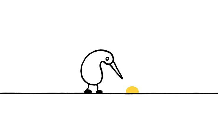 """The bittersweet short animation """"Nuggets"""" illustrates the sad descent into addiction through the tale of a kiwi bird who develops a taste for mysterious golden nuggets. The animation was created by..."""