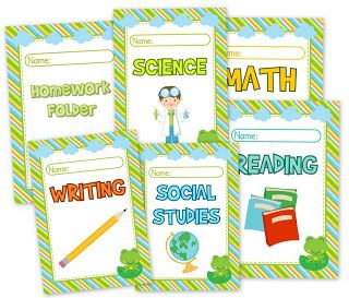 names covers for binders | FlapJack Educational Resources: May 2013