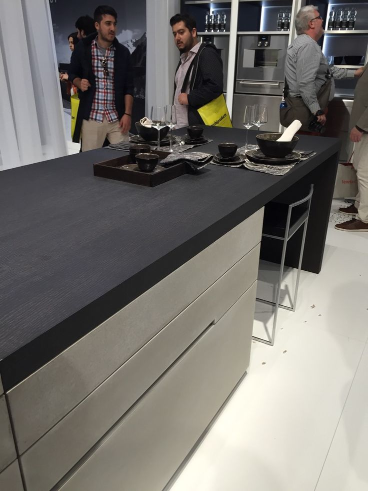 Steininger kitchen islands at EroCucina 2016