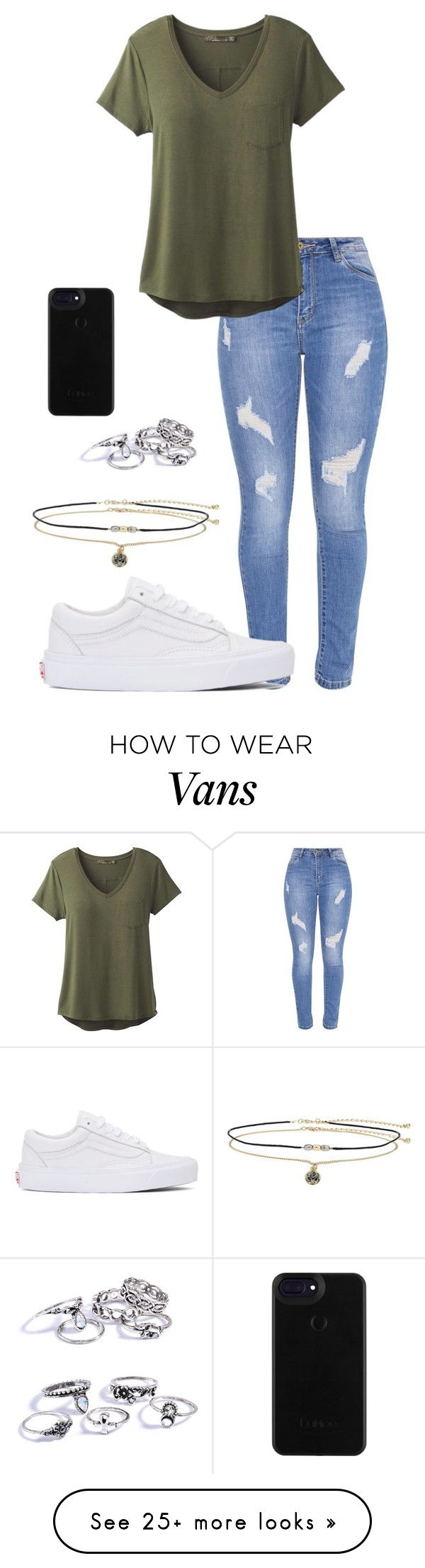 """""""Sem título #943"""" by army-forever on Polyvore featuring Vans, Miss Selfridge and prAna"""